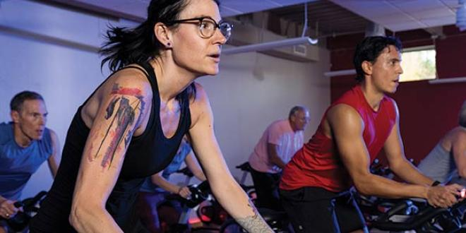 Group Fitness Cycling Classes at YMCA of the Triangle